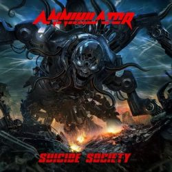 ANNIHILATOR: Suicide Society (+bonus CD)