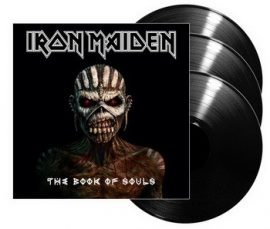 IRON MAIDEN: Book Of Souls (3LP)