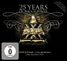 AXXIS: 25 Years Of Rock And Power (DVD+2CD)