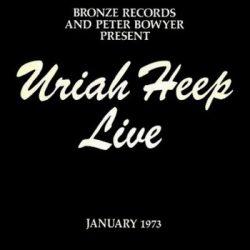 URIAH HEEP: Live 1973 (2LP, 2015 reissue)