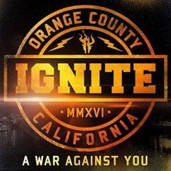 IGNITE: A War Against You (digipack) (CD)