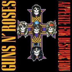 GUNS N' ROSES: Appetite For Destruction (LP, HQ)