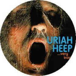URIAH HEEP: Very 'eavy... (jelvény, 2,5 cm)