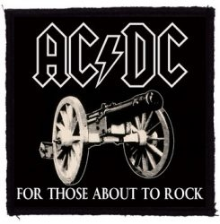 AC/DC: For Those About To Rock (95x95) (felvarró)