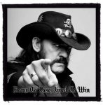 LEMMY: Born To Lose (95x95) (felvarró)