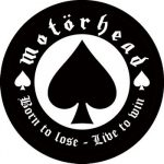 MOTORHEAD: Born To Lose (circle, 95mm) (felvarró)
