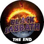 BLACK SABBATH: The End (jelvény, 2,5 cm)