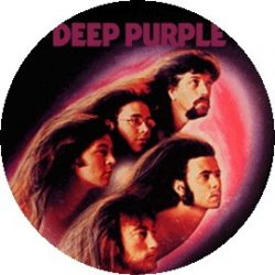 DEEP PURPLE: Fireball (jelvény, 2,5 cm)