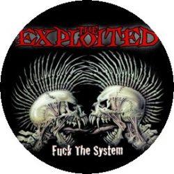 EXPLOITED: Fuck The System (jelvény, 2,5 cm)