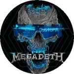 MEGADETH: Dystopia (jelvény, 2,5 cm)