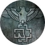 RAMMSTEIN: Eagle (jelvény, 2,5 cm)