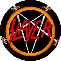 SLAYER: Logo Pentagram (jelvény, 2,5 cm)