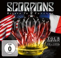 SCORPIONS: Return To F. (CD+2DVD,Live) (350', kódmentes)