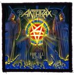 ANTHRAX: For All Kings (95x95) (felvarró)