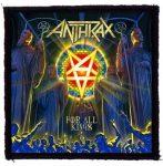 ANTHRAX: For All Kings (95x95) (felvarró)
