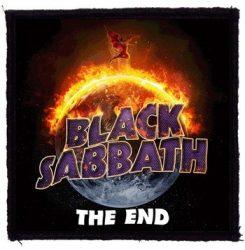 BLACK SABBATH: The End (95x95) (felvarró)