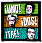 GREEN DAY: Uno Dos Tre (95x95) (felvarró)