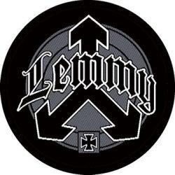 LEMMY: Circle Logo (95x95) (felvarró)