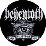 BEHEMOTH: Satanist (jelvény, 2,5 cm)