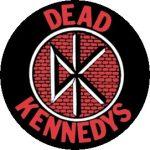 DEAD KENNEDYS: Logo (jelvény, 2,5 cm)