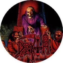 DEATH: Scream Bloody Gore (jelvény, 2,5 cm)