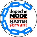 DEPECHE MODE: Master And Servant (jelvény, 2,5 cm)