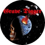 GRAVE DIGGER: Heavy Metal Breakdown (jelvény, 2,5 cm)