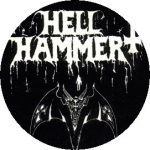 HELLHAMMER: Satanic Rites (jelvény, 2,5 cm)