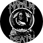 NAPALM DEATH: Life (jelvény, 2,5 cm)