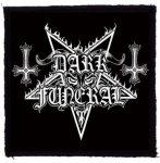 DARK FUNERAL: Logo (95x95) (felvarró)