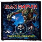 IRON MAIDEN: Final Frontier (95x95) (felvarró)