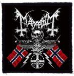MAYHEM: Coat Of Arms (95x95) (felvarró)