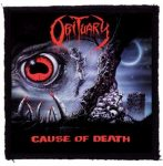 OBITUARY: Cause Of Death (95x95) (felvarró)