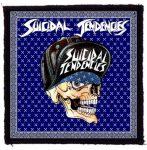 SUICIDAL TENDENCIES: Skull (95x95) (felvarró)