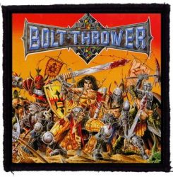 BOLT THROWER: War Master (95x95) (felvarró)