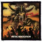 LIVING DEATH: Metal Revolution (95x95) (felvarró)
