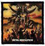LIVING DEATH: Metal Revolution (95x95) (felvarró)