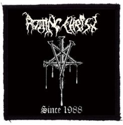ROTTING CHRIST: Since 1988 (95x95) (felvarró)