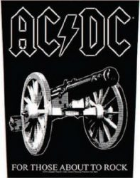 AC/DC: For Those About (hátfelvarró / backpatch)