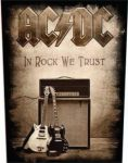 AC/DC: In Rock We Trust (hátfelvarró / backpatch)