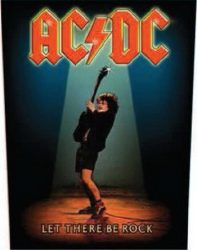 AC/DC: Let There Be Rock (hátfelvarró / backpatch)
