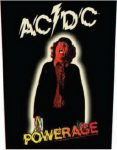 AC/DC: Powerage (hátfelvarró / backpatch)