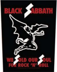 BLACK SABBATH: We Sold Our Soul (hátfelvarró / backpatch)