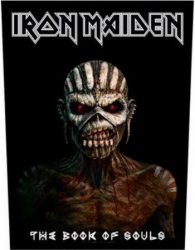 IRON MAIDEN: Book Of Souls (hátfelvarró / backpatch)