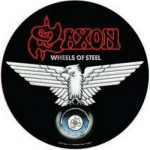 SAXON: Wheels Of Steel (hátfelvarró / backpatch)