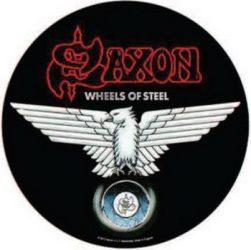 SAXON: Wheels Of Steel (hátfelvarró / backpatch)