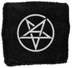 ANTHRAX: Pentagram Logo (frottír csuklószorító)