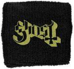 GHOST: Logo (frottír csuklószorító)