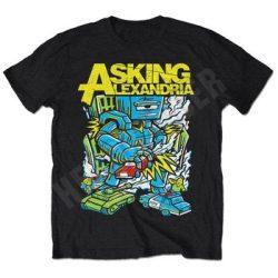 ASKING ALEXANDRIA: Killer Robot (póló) (akciós!)
