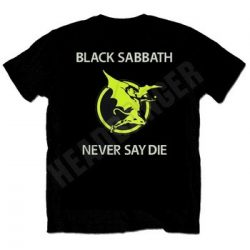 BLACK SABBATH: Never Say Die (póló)